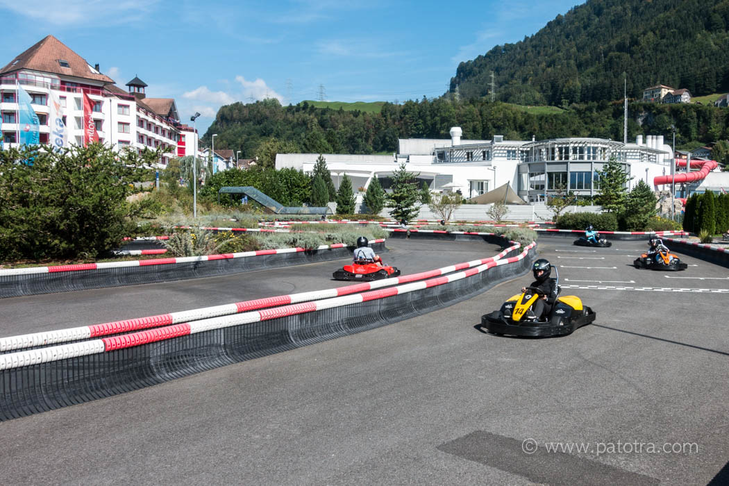 Kartbahn Swiss Holiday Park