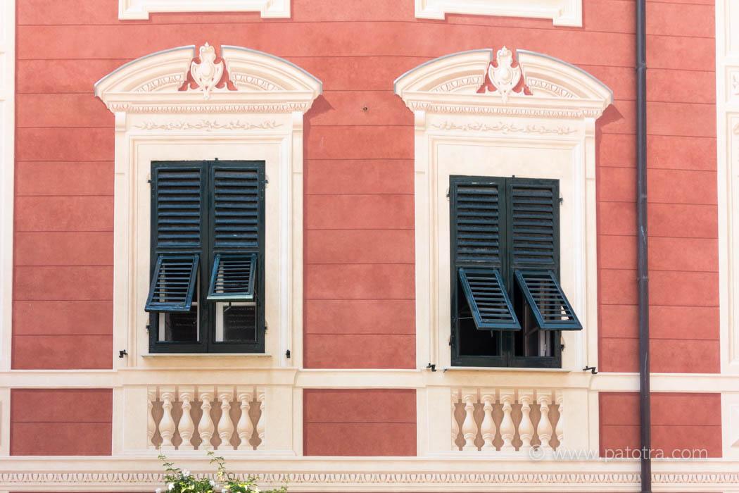 Fassaden Ligurien