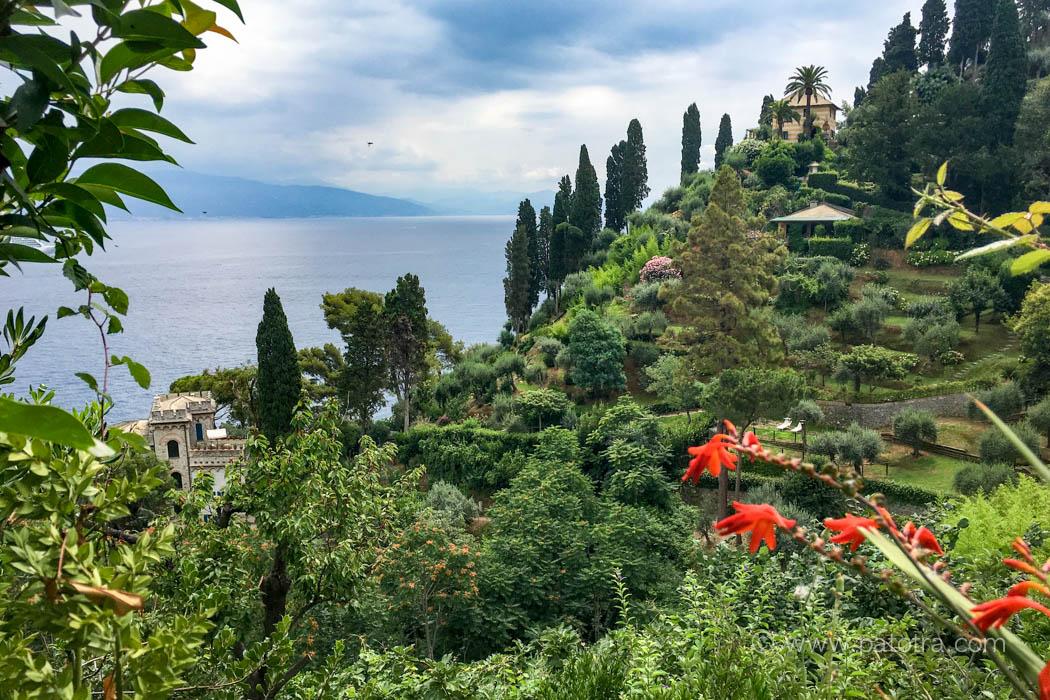Portofino Ausblick