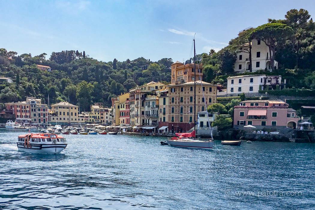Portofino vom Boot