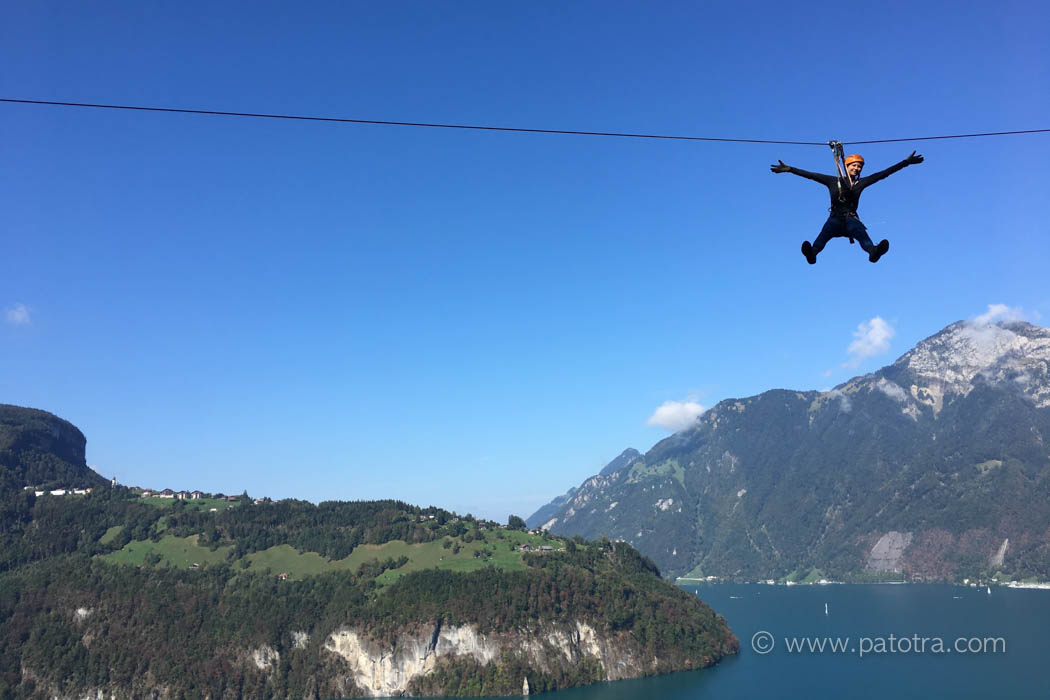 Flying Fox Vierwaldstaettersee