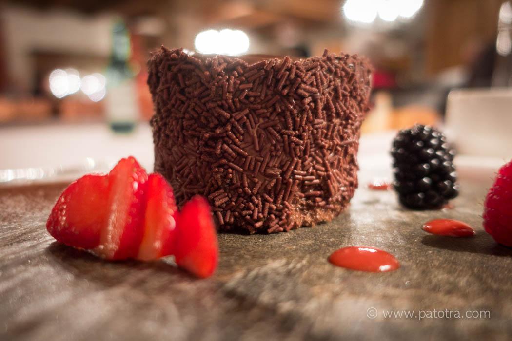 Dessert im Schloss Brandis Kulinarik