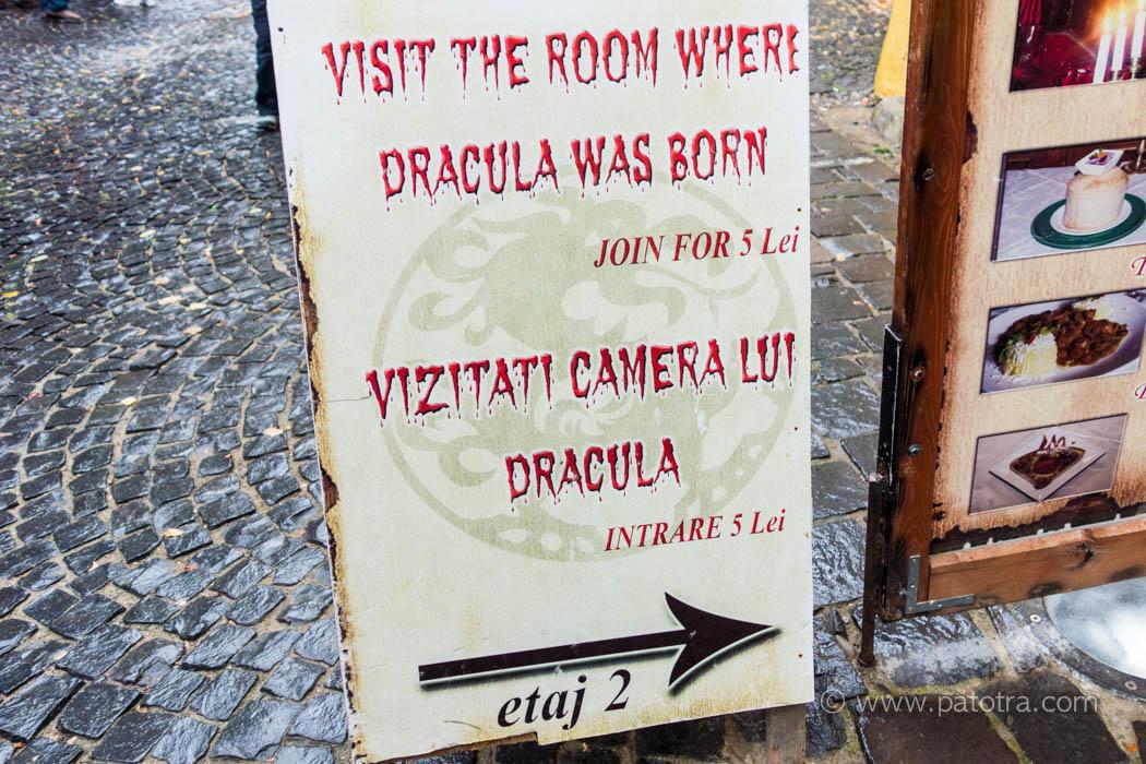 Dracula Geburtshaus Rumaenien