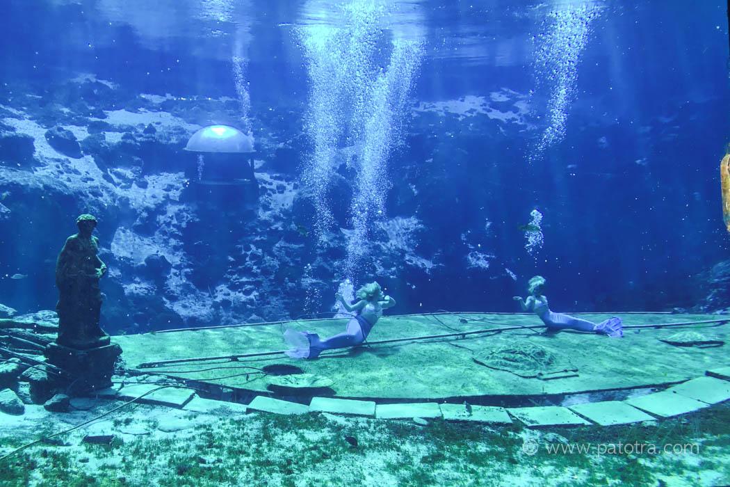 Weeki Wachee tanzen Meerjungfrau