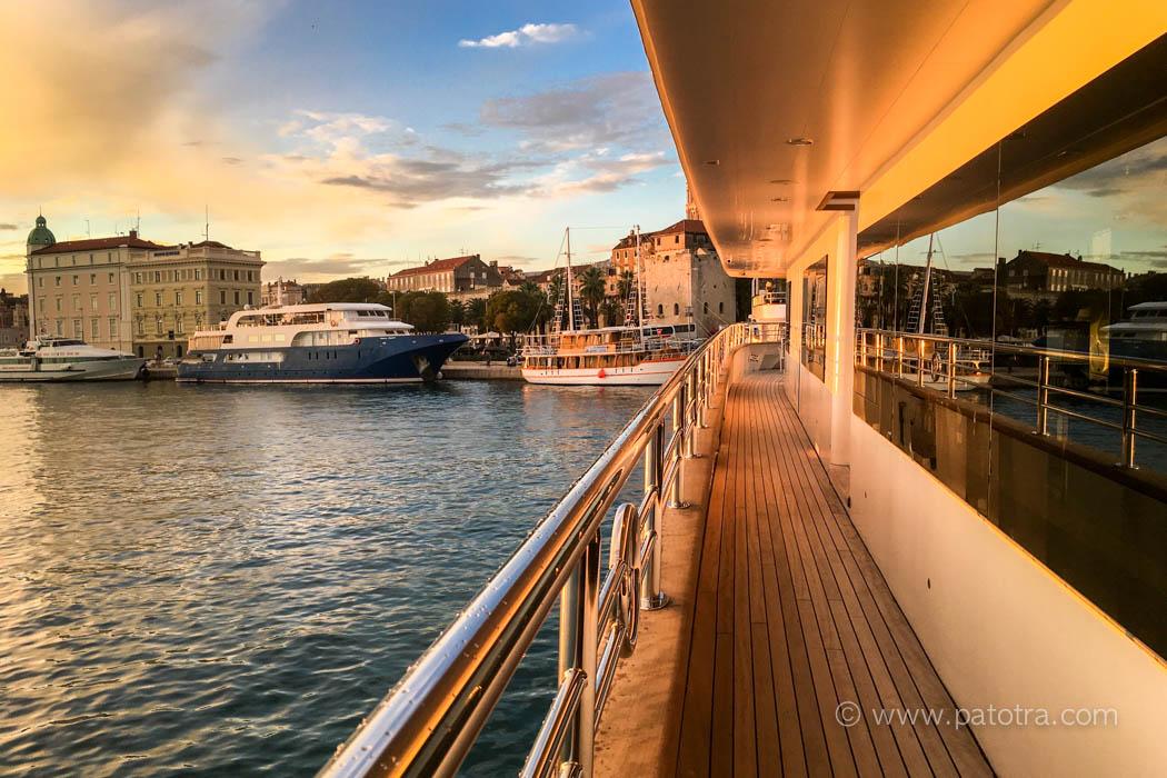 Schiff in Split