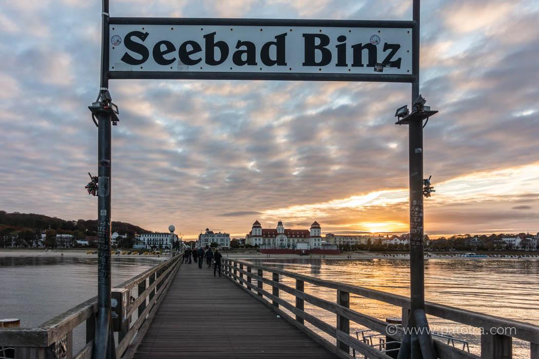 Seebad Binz Blick