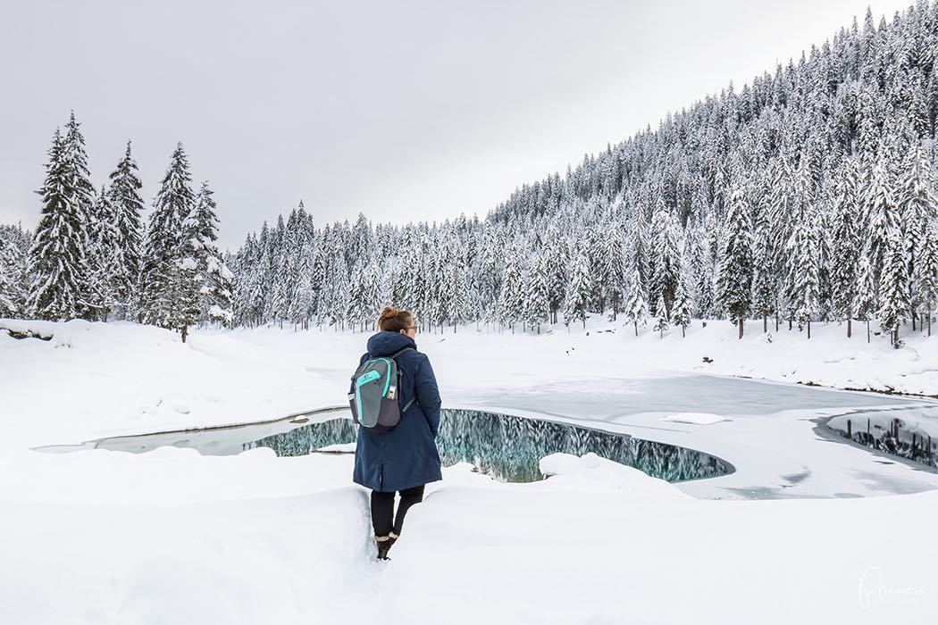 Wintererlebnis Caumasee
