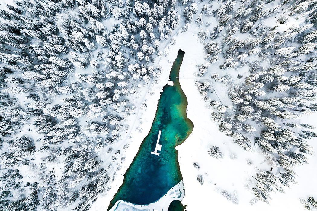 Wintertraum in der Schweiz
