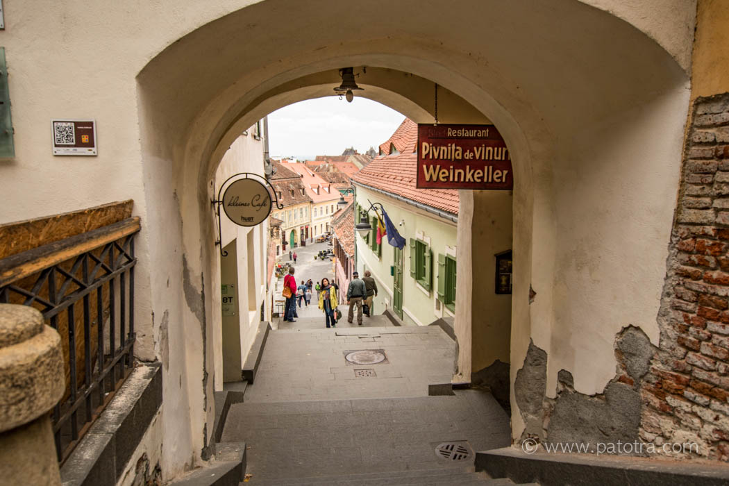 Sibiu Gassen