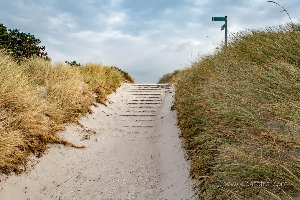 Hiddensee zum Strand