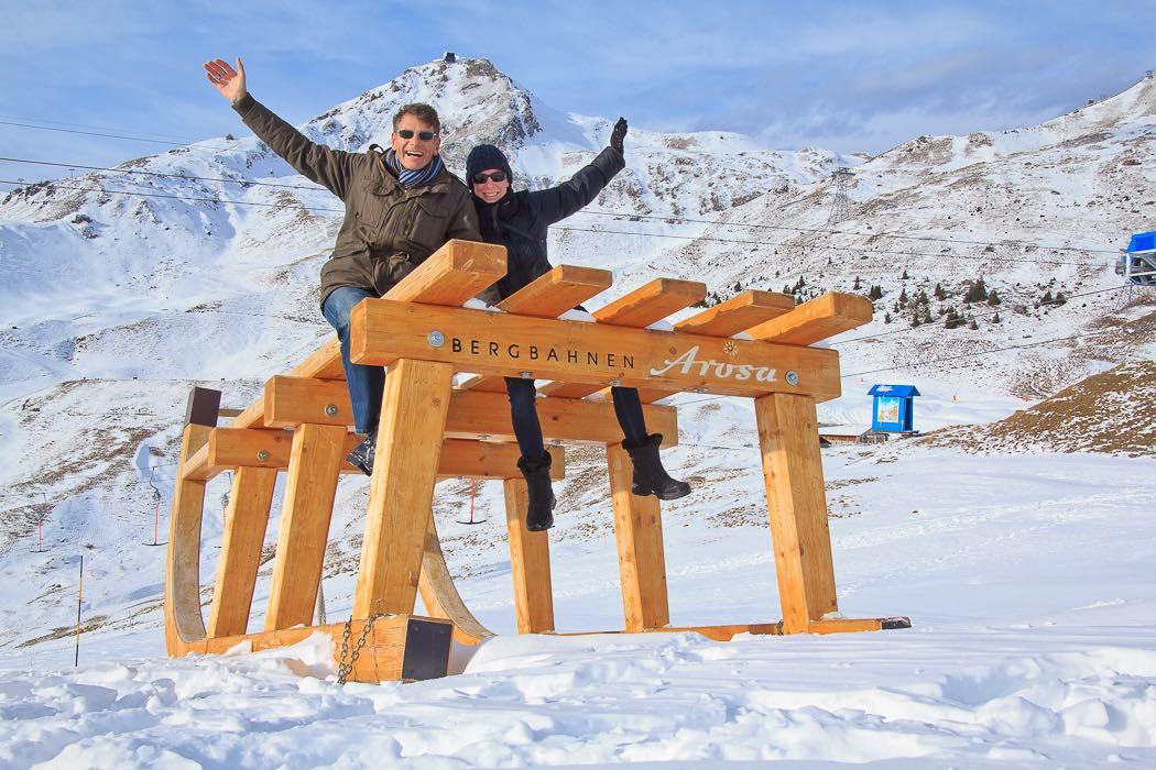 Wintererlebnis Wandern Arosa