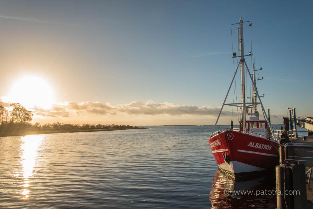 Hafen Schaprode Morgenstimmung