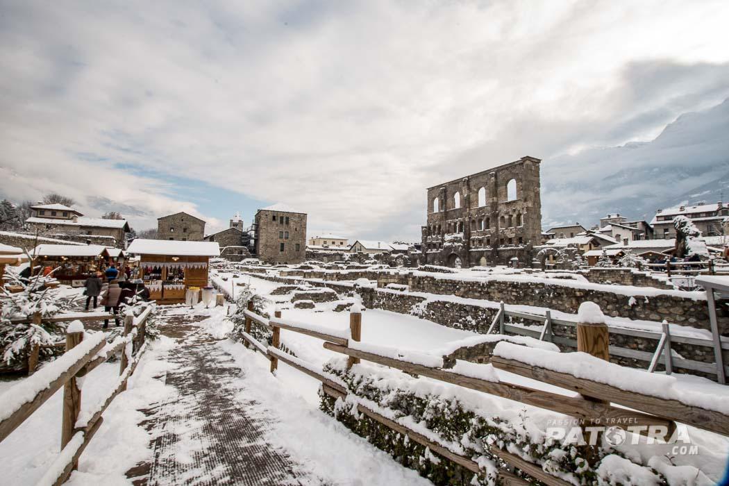 Christmas Market Aosta