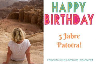 Happy Birthday - 5 Jahre Patotra