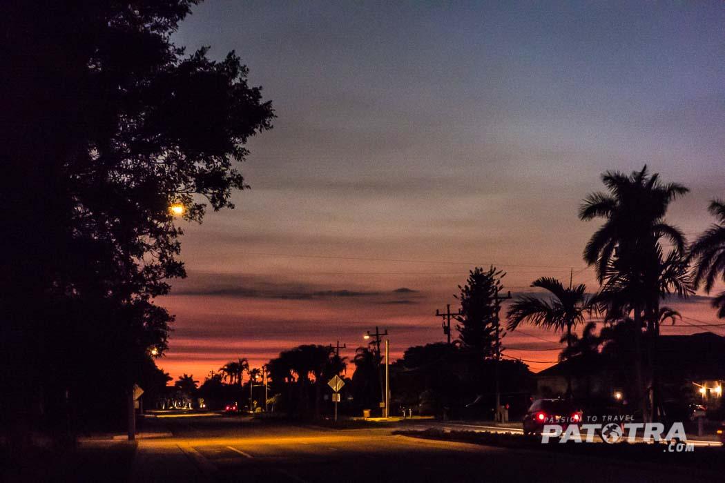 Cape Coral am Abend