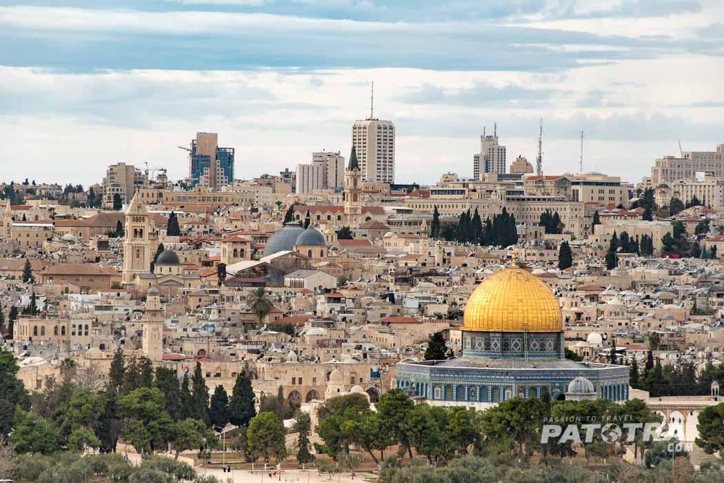Blick Alstadt Jerusalem