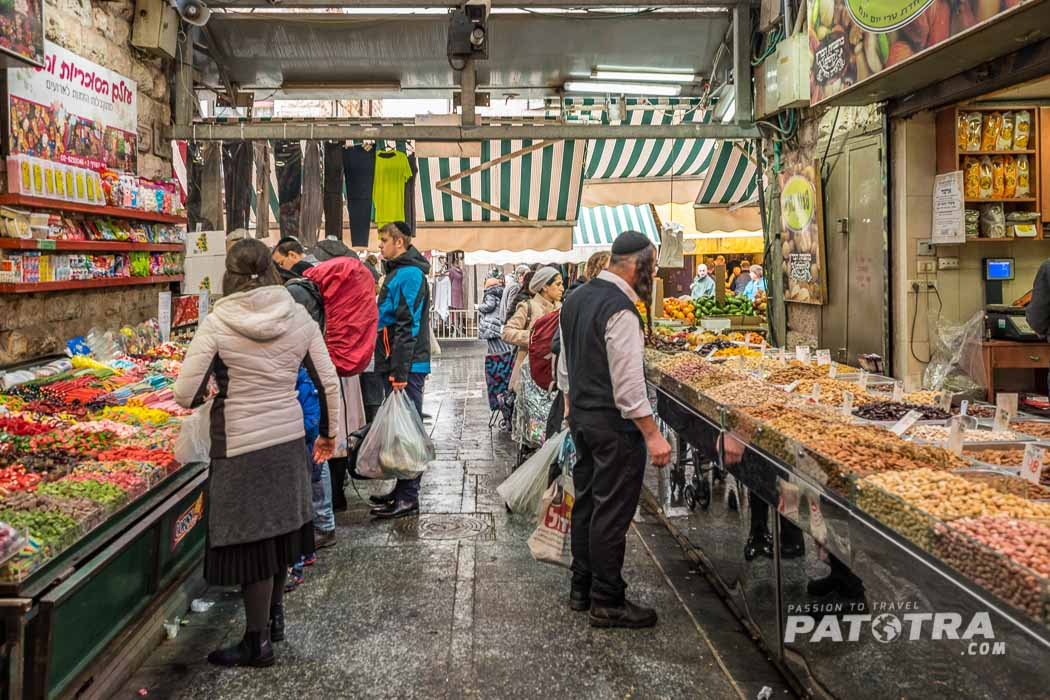 Market Life in the Old Town of Jerusalem