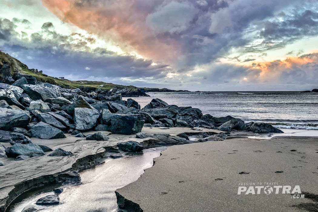 Winter am Strand Irland
