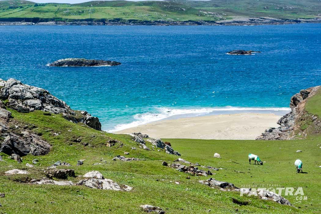 Traumstrand auf Inishbofin