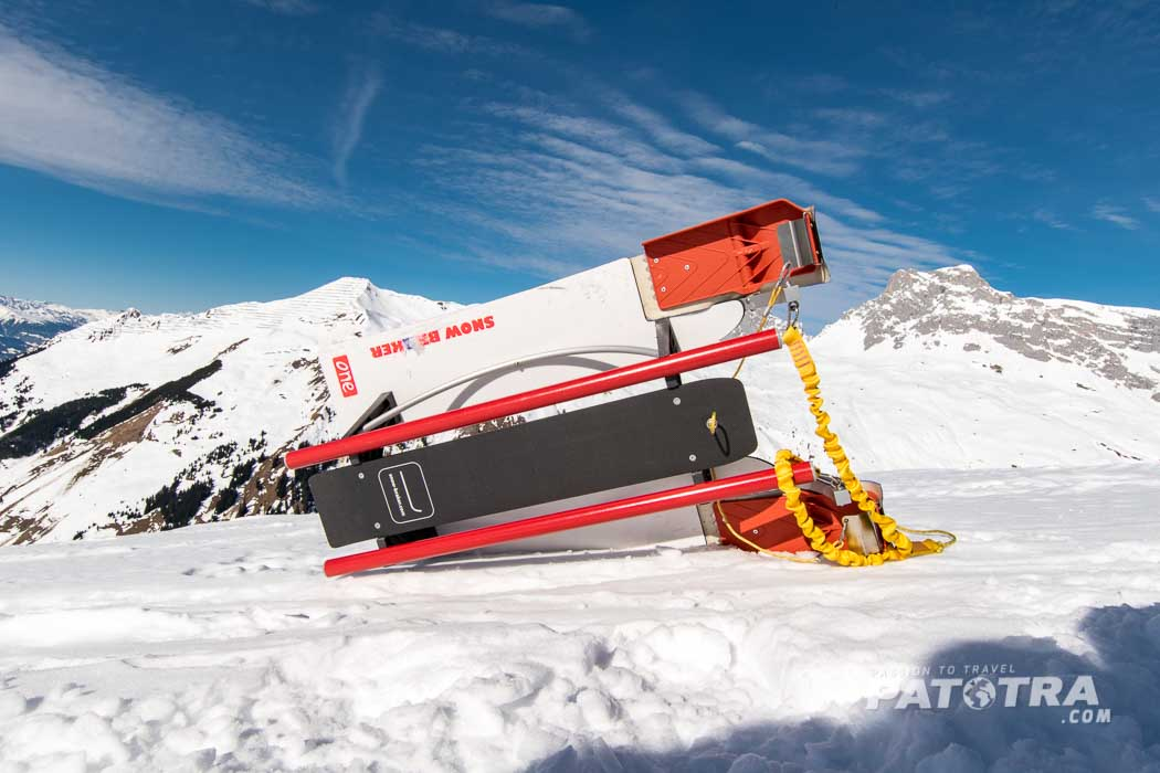 Freeride Alpin Schlitten