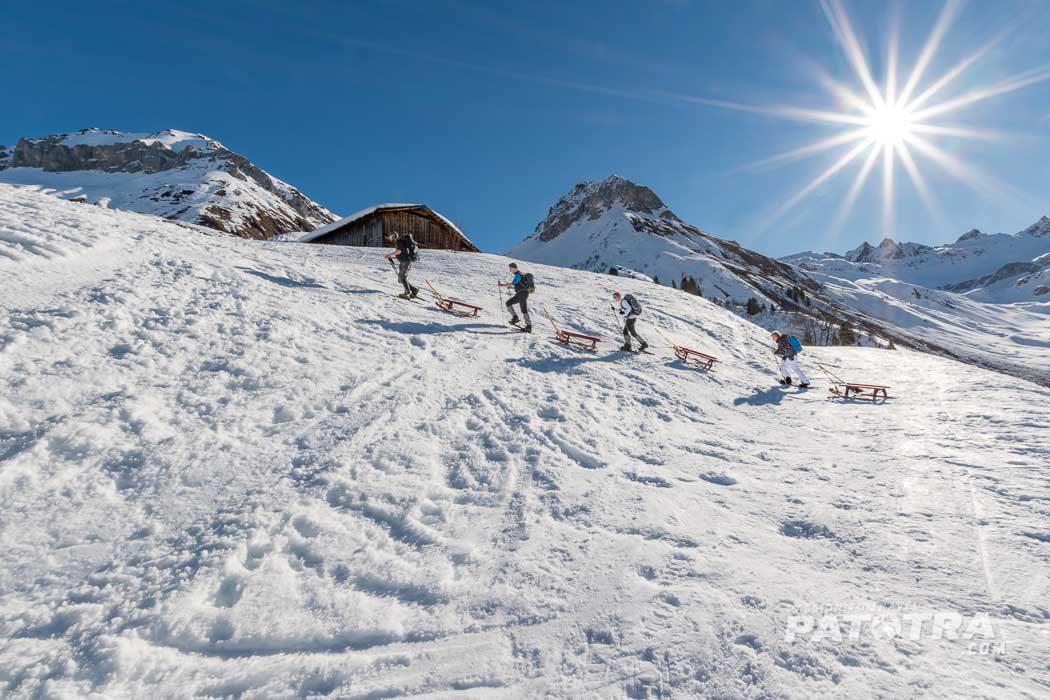 Schneeschutour Graubuenden
