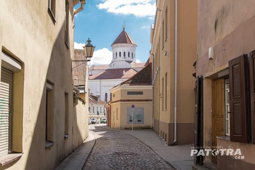 Vilnius im April