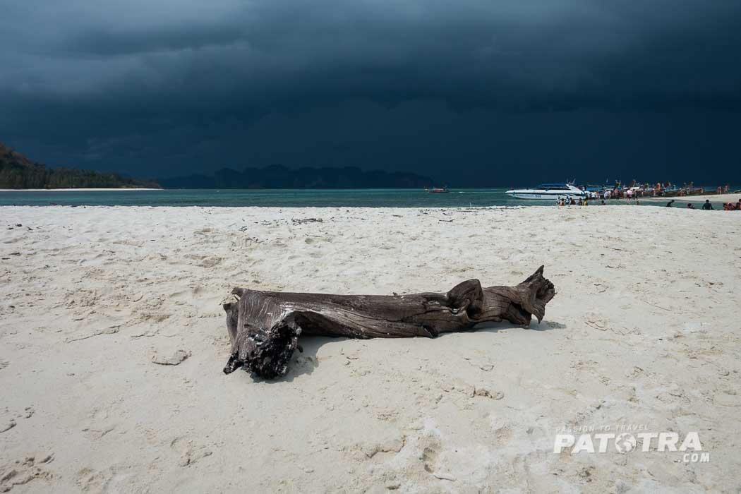 Unwetter Andamansee