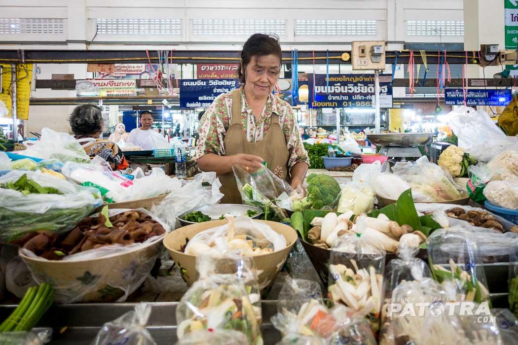 Gemuese Krabi Markt