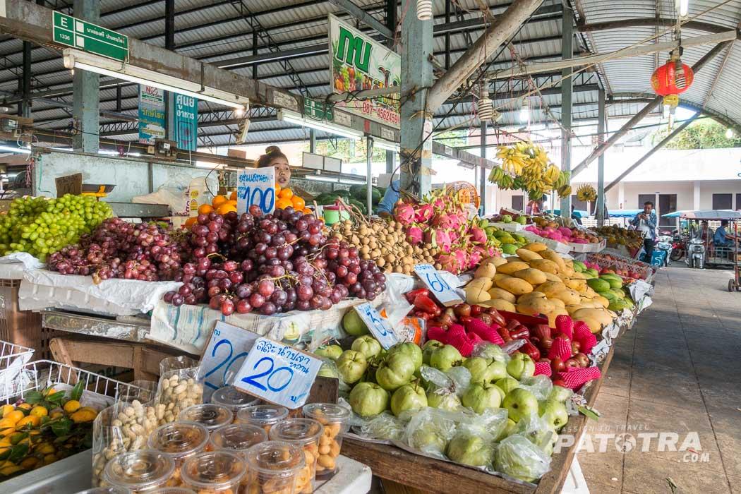 Obst Markt Thailand