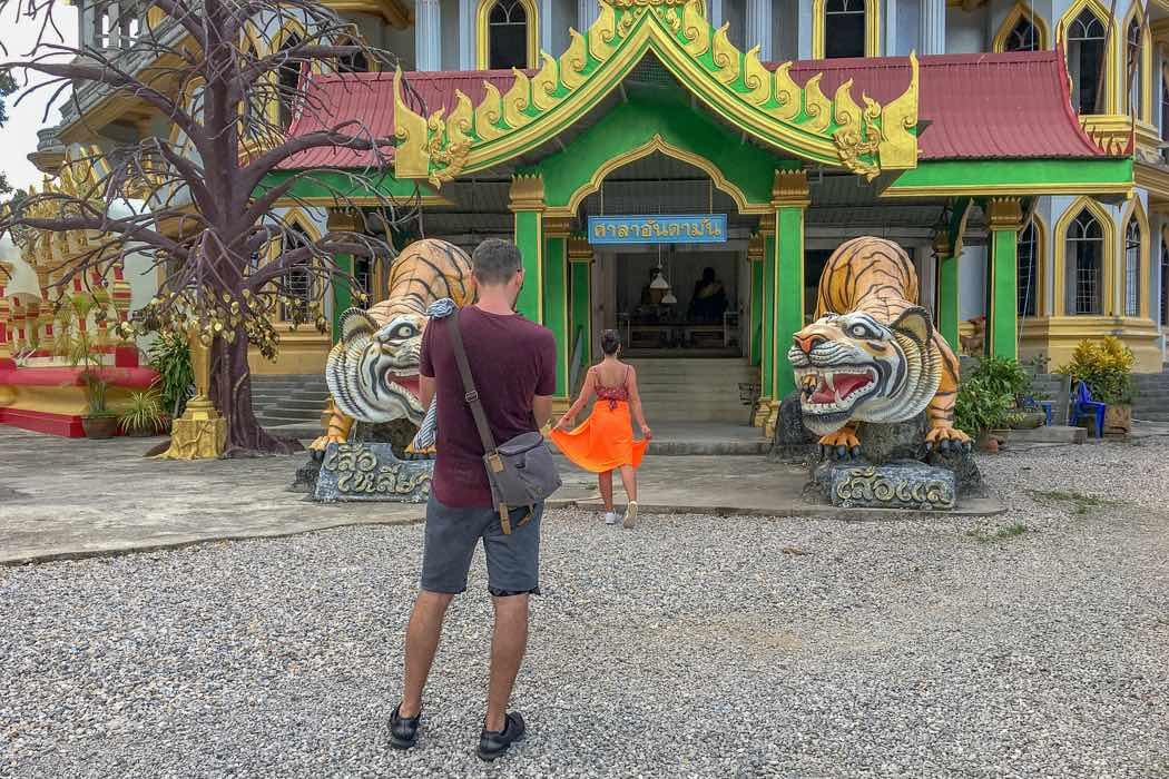 Respektlos Tempel