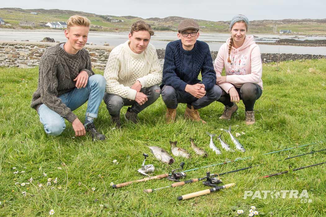 Fischen Angeln Inishbofin