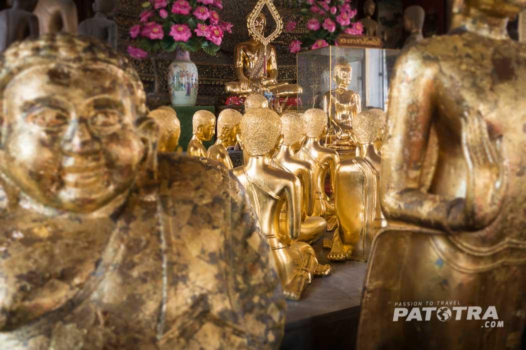 Tempel Bangkok Frauen