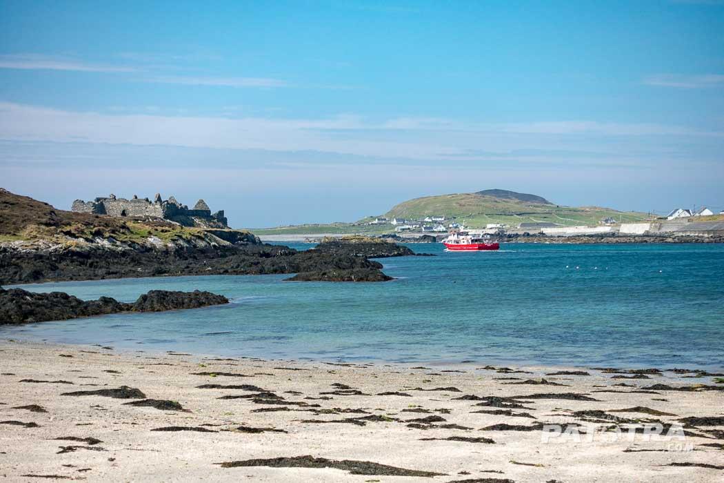 Hafen von Inishbofin