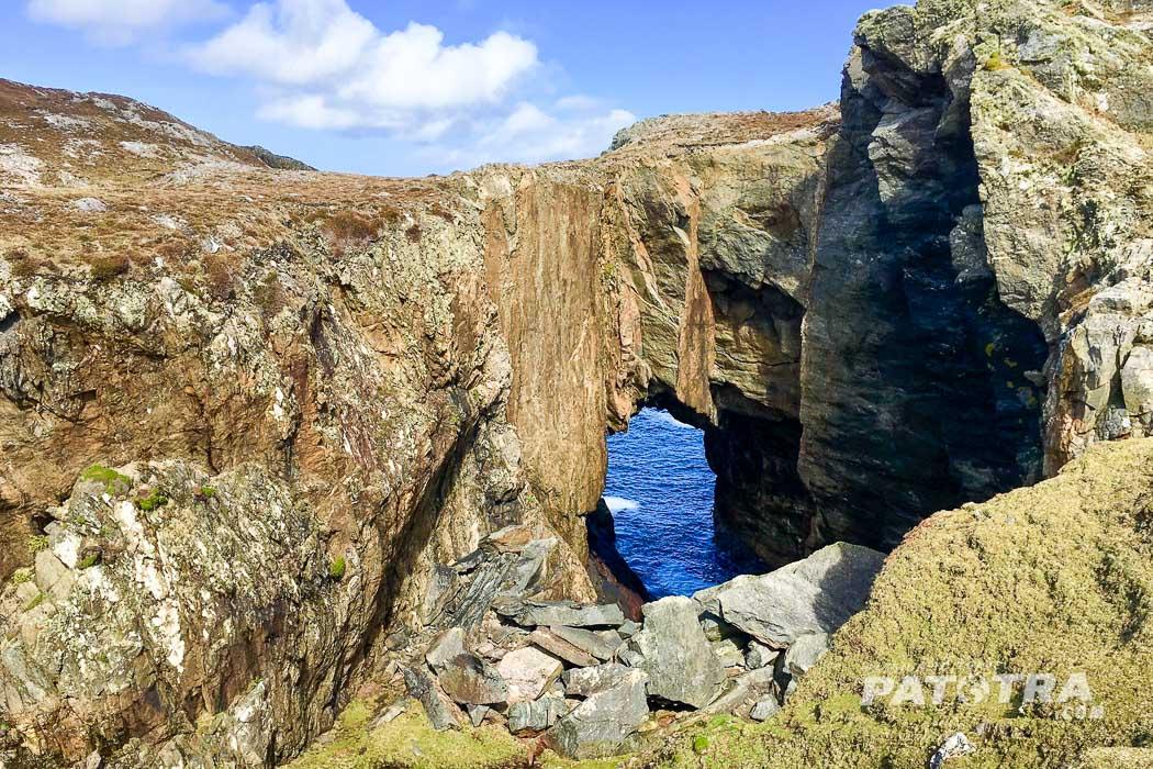 Inishbofin Tor zum Meer