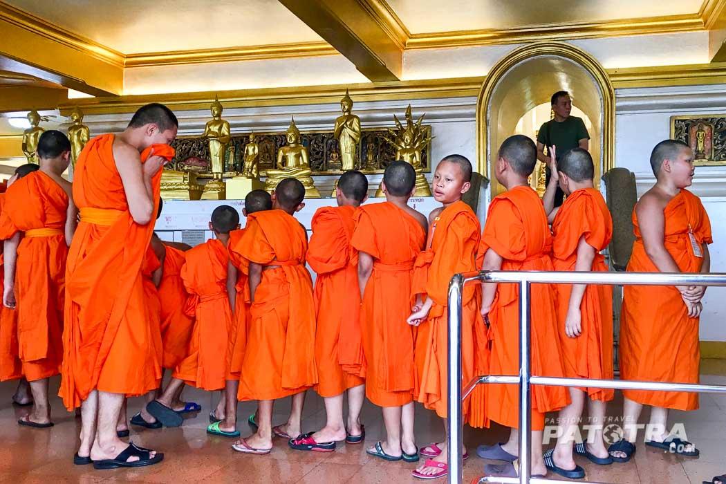 Tempel Thais Moenche
