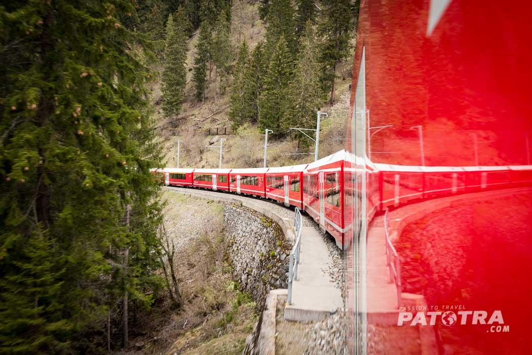 Rhaetische Bahn Graubuenden