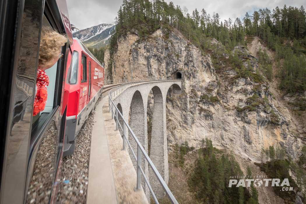 Viadukt Rhaetische Bahn