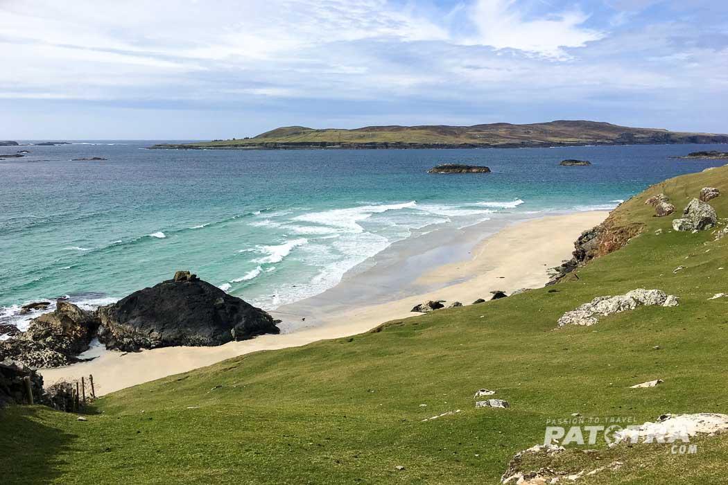 Strand Inishbofin Blick Inshark