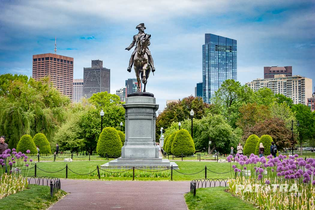 Washington Statue, Public Gardens