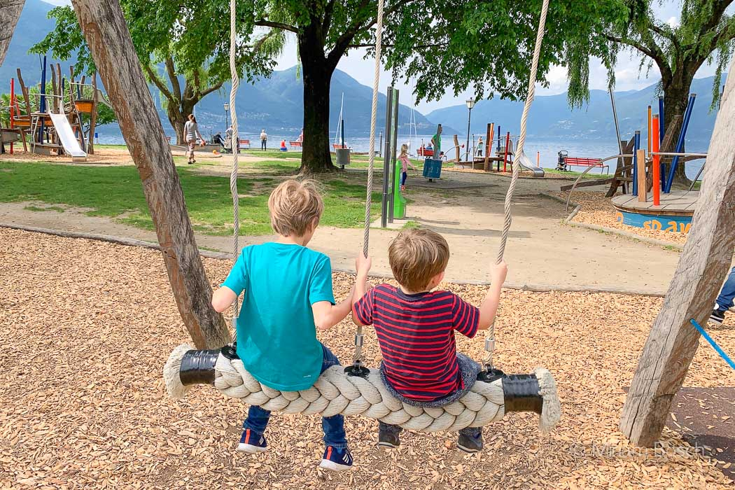 Spielplatz in Ascona