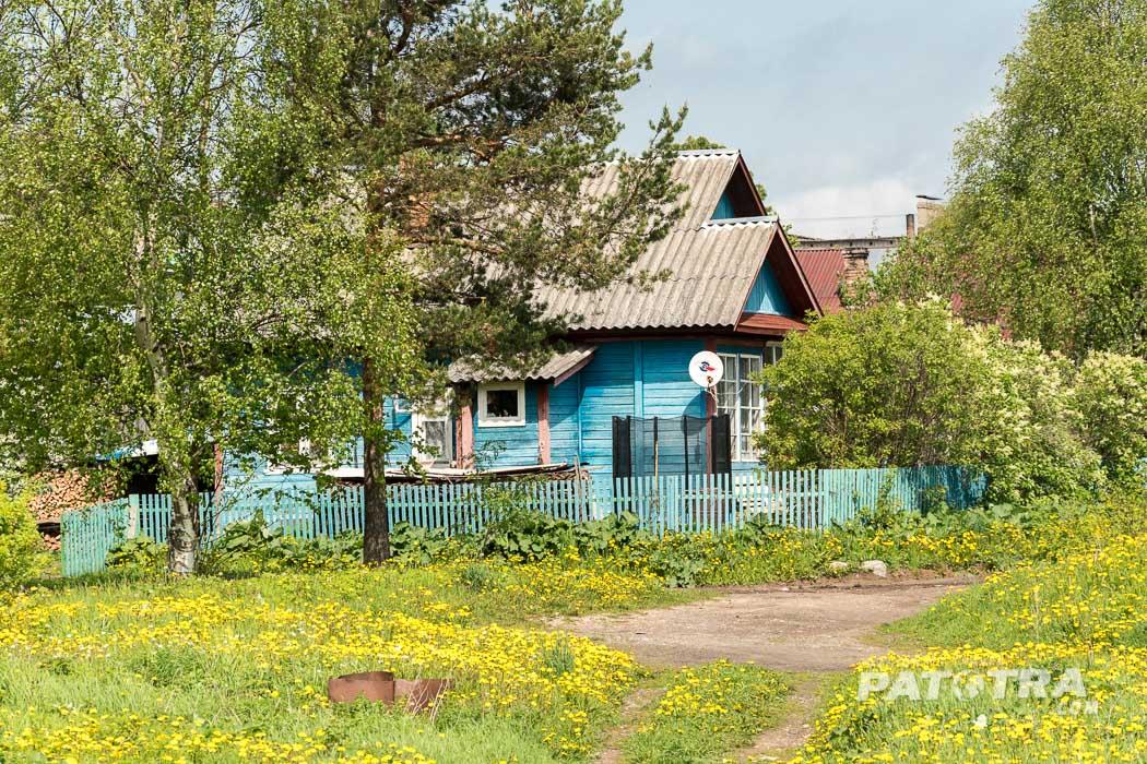 Dorf Karelien