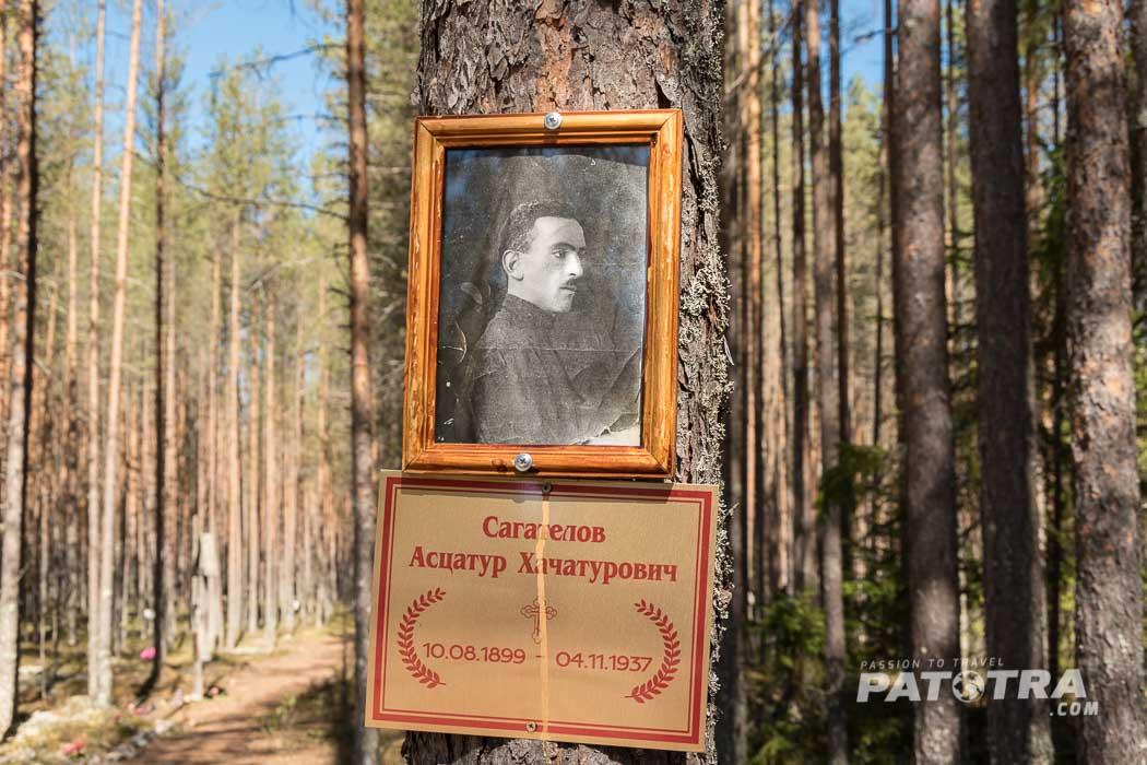 Grab Russland Gulag