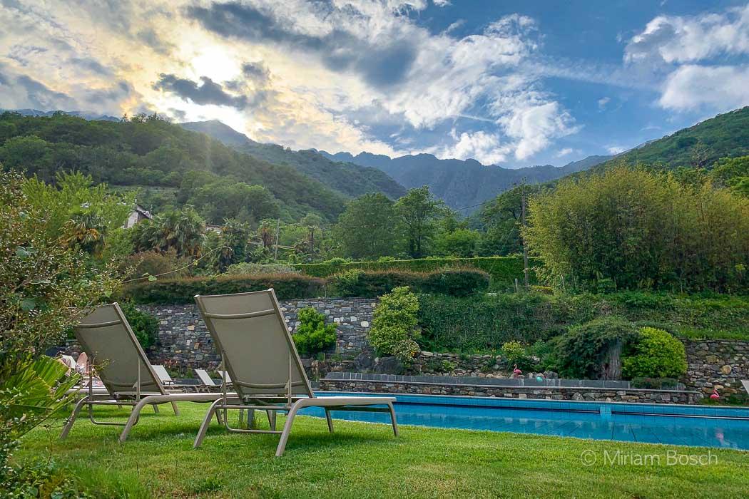 Hotel Brenscino Garten mit Pool