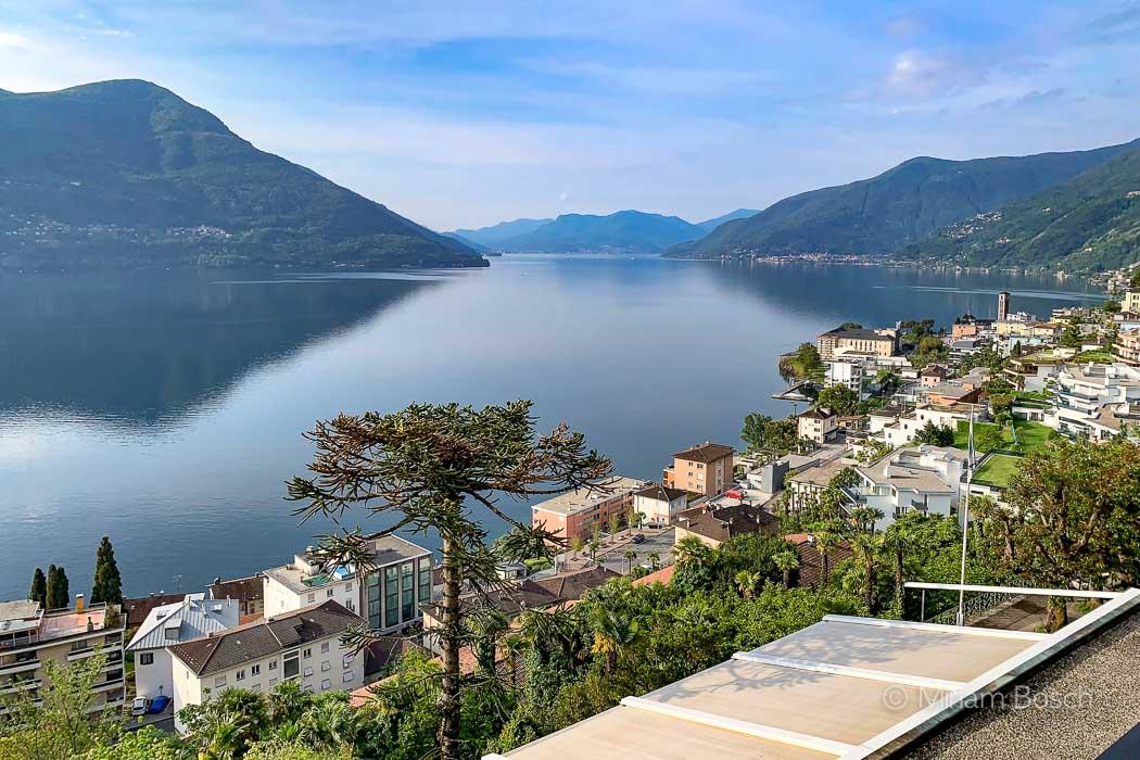 Seeblick vom Hotel Brenscino