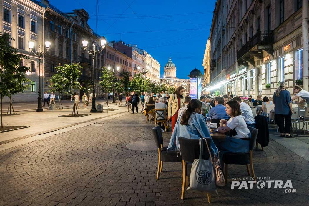 St.Petersburg bei Nacht