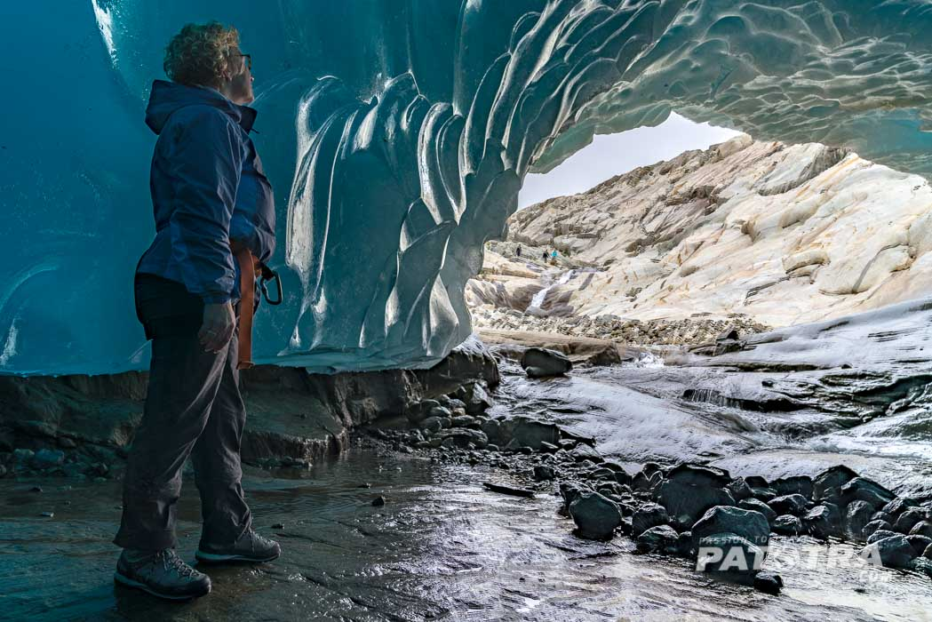 Eishöhle Alteschgletscher