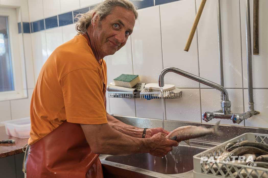 Berufsfischer Bodensee Rolf Meier