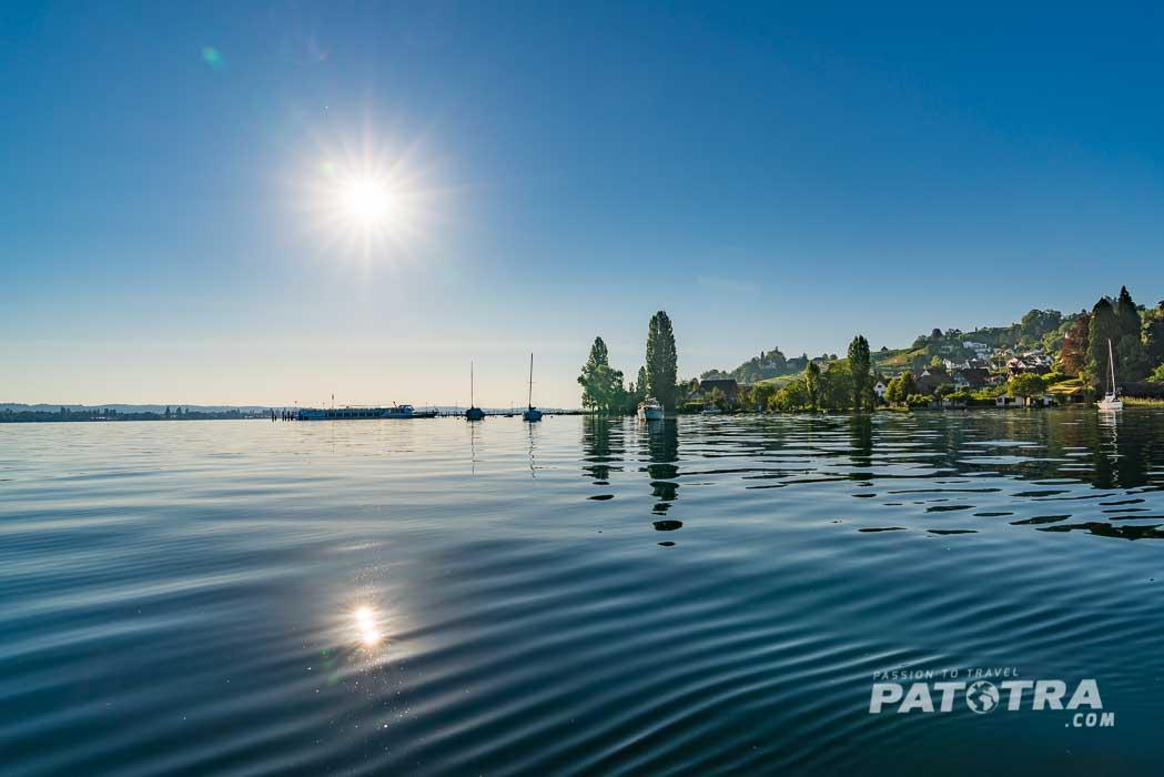 Morgen am Bodensee