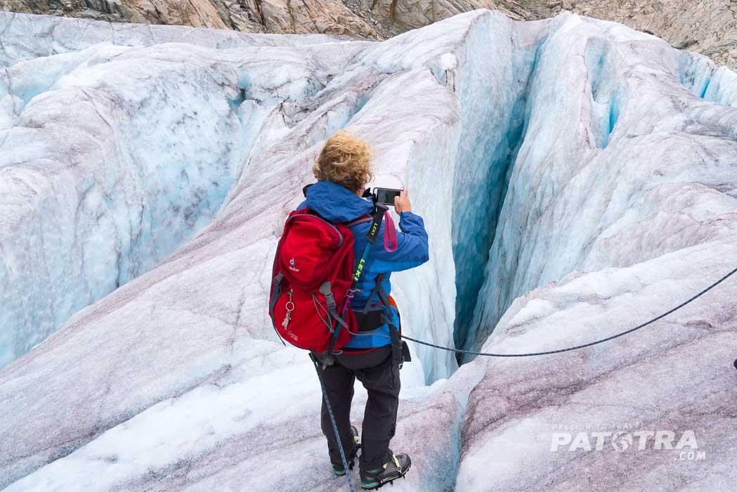 Gletschersplaten Aletschgletscher