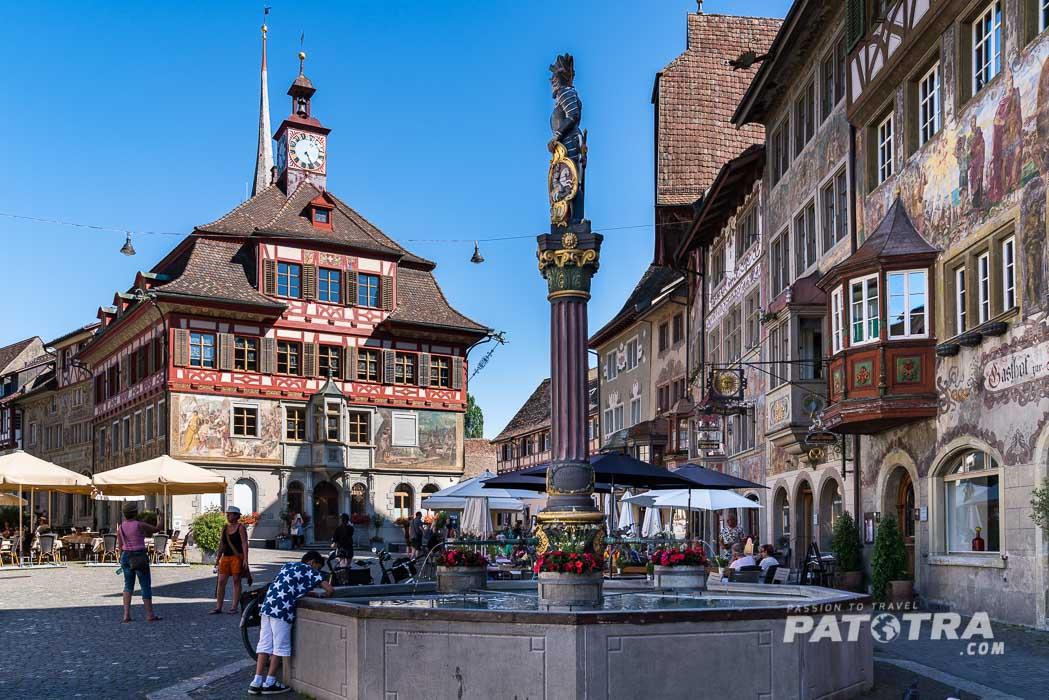 Fassaden Stein am Rhein